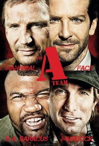A-Team 2010 movie poster